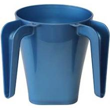 Light Blue Plastic Wash Cup