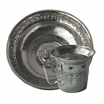 Chrome Wash Cup and Optional Basin