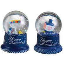 Mini Hanukkah Water Snow Globe Assorted Styles