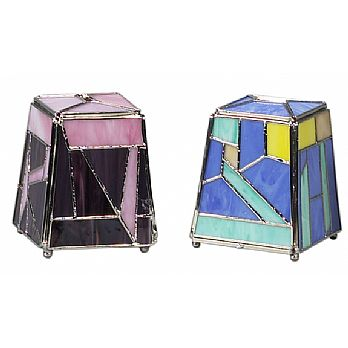 Stained Glass Tzedakkah Boxes