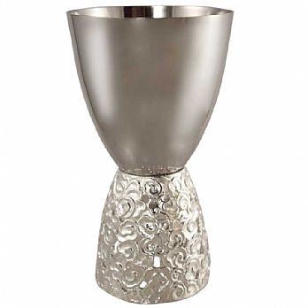 Modern ''Cloud'' Kiddush Cup