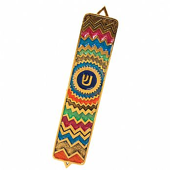 Missoni Mezuzah Cover Multi Color
