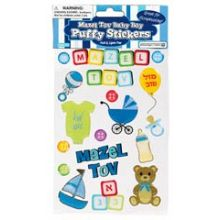 Adorable Puffy Stickers - Baby Boy