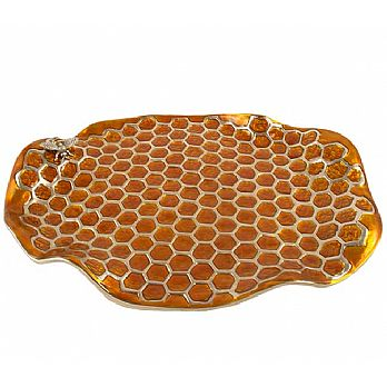 Beehive Honeycomb Decorative Tray
