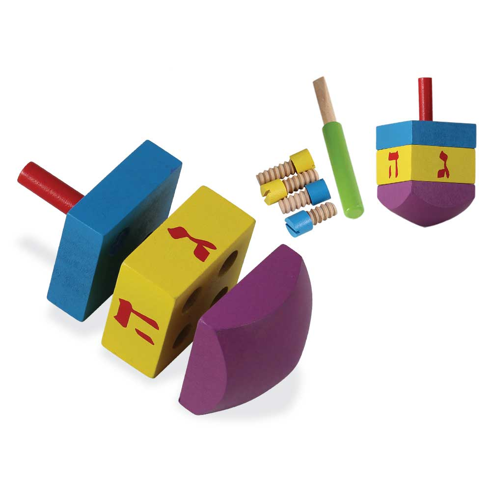DIY your own wood Dreidel