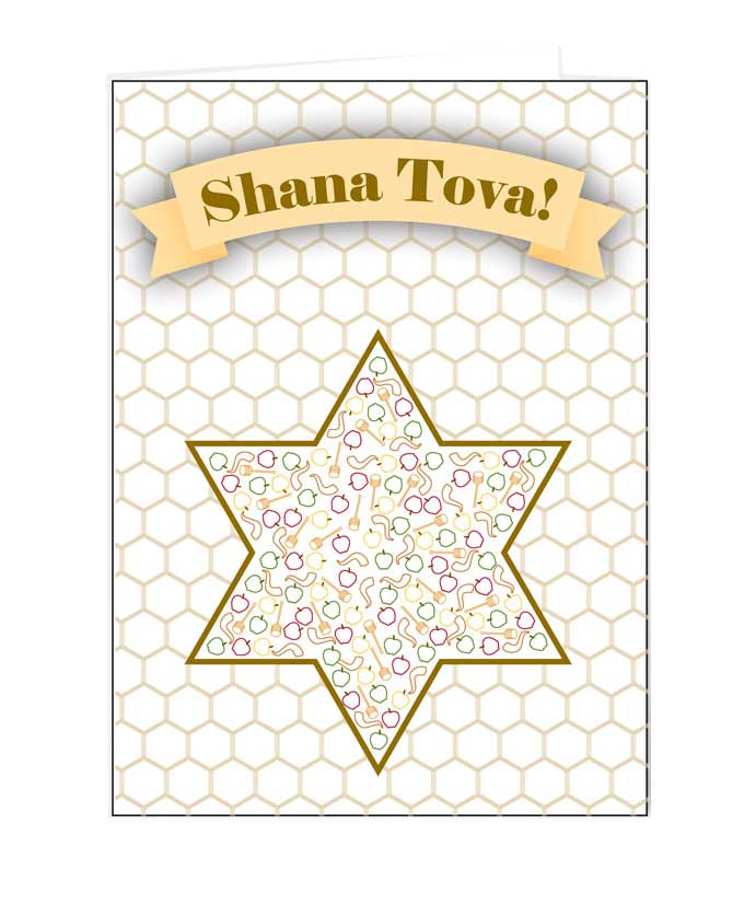 Jewish New Year Cards with Warm greeting