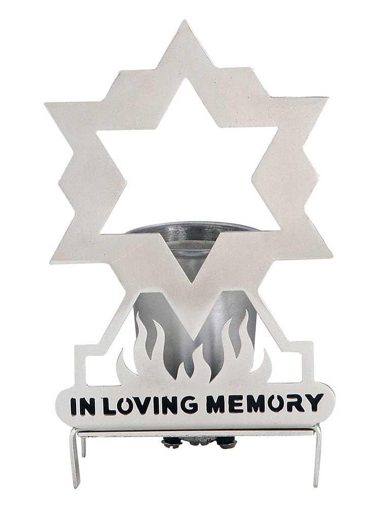 Yahrzeit Bulb Lamp Holders For Memorial Service