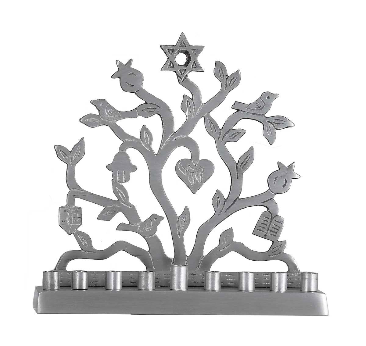 Original artistic menorah creations for a beautiful celebration aluminum jewish symbols menorah biocorpaavc Image collections