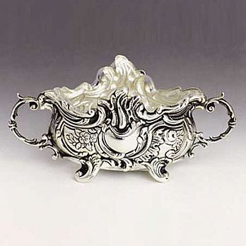Sterling Silver Salt Dish