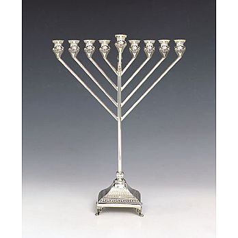 Sterling Silver Menorah - Rubin Collection