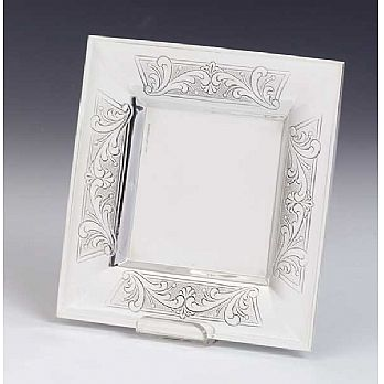 Sterling Silver Kiddush Cup Tray - Bagatel