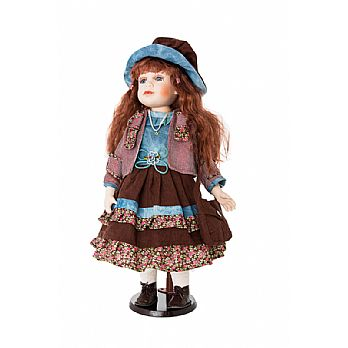 Ellis Island Porcelain Doll Collection - Sharon