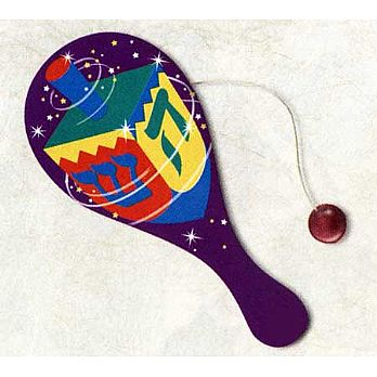 Hanukkah Fun Paddle ball - High Ligh