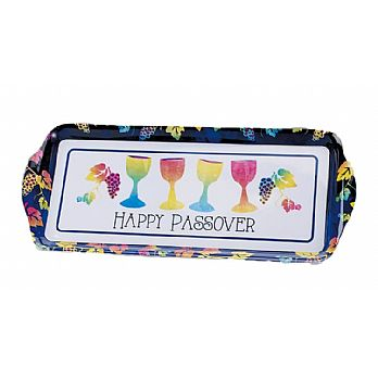Passover Melamine Long Tray