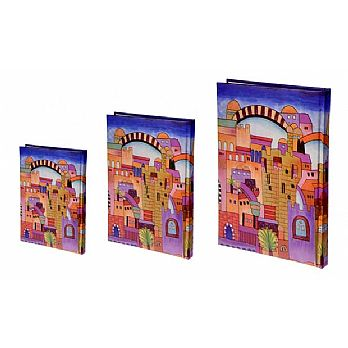 Judaic Bound Notebook - Jerusalem