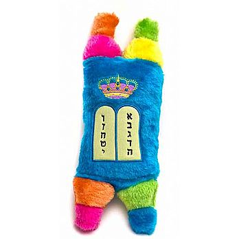 Multi Color Plush Torah