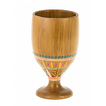 Pharonic Light Wood Miriam's Cup