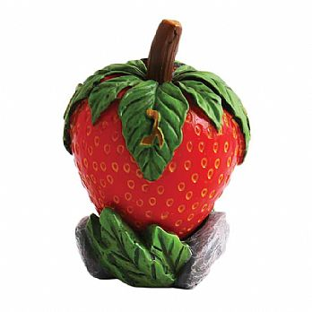 Polyresin Strawberry Collectors Dreidel with matching Display