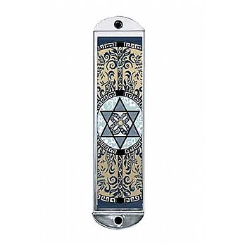 Car Mezuzah - Oriental Star of David