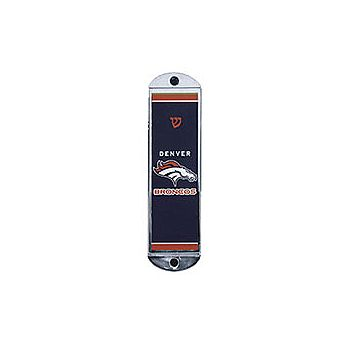 Metal Car Mezuzah - Broncos