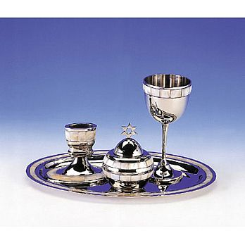 Mother of Pearl Havdallah Set