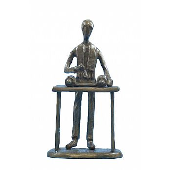 Bar Mitzvah Copper/Bronze Sculpture
