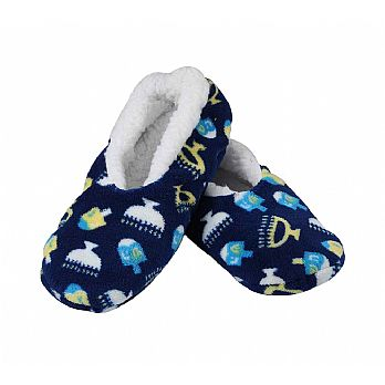 Hanukkah Snuggle Slippers - For all ages