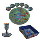 Wood Seder Set By Emanuel - 7 Species