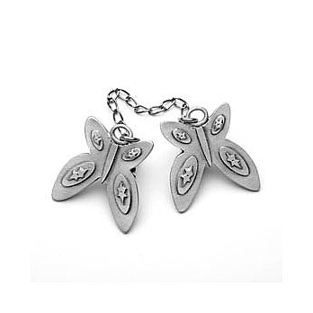 Pewter Butterfly Tallit Clip