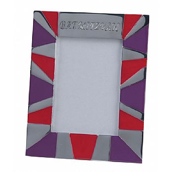 Decorated Metal Picture Frame - Bat Mitzvah
