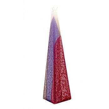 Freestanding Pyramid Havdallah Candle