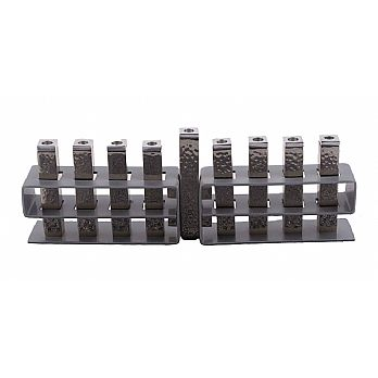 Emanuel Moving Branches Menorah-- Black