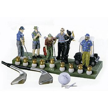Golf Players Menorah