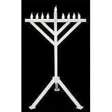 Hanukkah Decorations Blowup Menorahs Amp Window