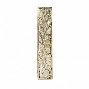 Two Tone Pomegranate Mezuzah