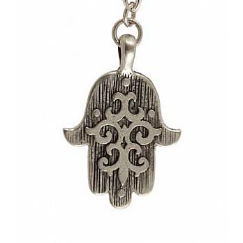 Ornate Hamsa Necklace