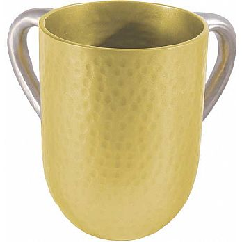 Anodized Aluminum Wash Cup by Emanuel - Gold