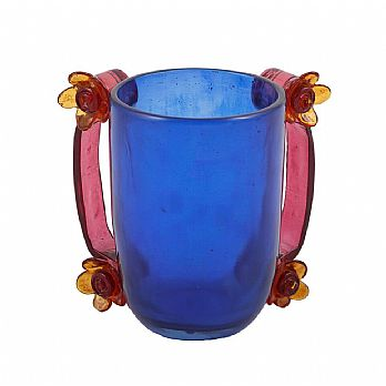 Emanuel Poly Washing Cup--Blue
