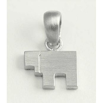 Sterling Silver Chai - Square Style