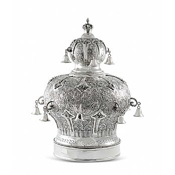Sterling Silver Torah Crown - Majesty