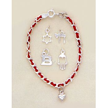 Red Bendel (String) Kaballah Bracelet