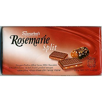 Schmerling Swiss Chocolate Bar - Rosemarie Split