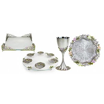 Magnificent Freesia Seder Set by Quest