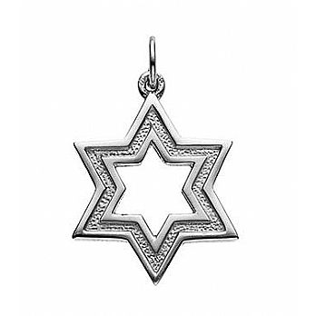 Sterling Silver Star-of-David Pendant