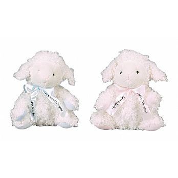 Passover Stuffed Sheep Blue or Pink