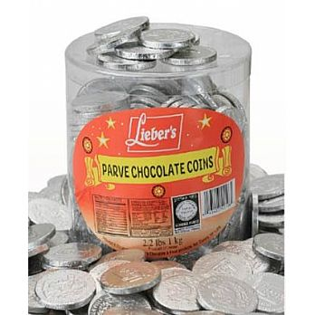 Loose Dark Chocolate Coins - Tub of 325