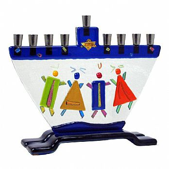 Children of Israel Menorah by Tamara Baskin