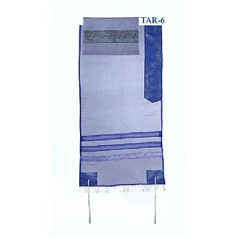 Organza Tallit Set By Emanuel - Blues