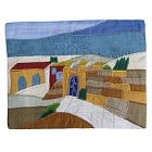 Raw Silk Tallit Bag - Western Wall