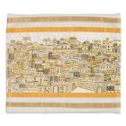 Emanuel Full Embroidered Jerusalem Tallit Bag-- Gold